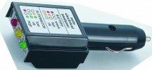 Szivargyújtós akkumulátor teszter (voltmérő)