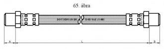 TALBOT GUMIFÉKCSŐ HÁTSÓ SIMCA (RANCHO 78-84)