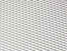 Tuning hűtőrács 100x25 - ezüst kis lyukú