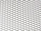 Tuning hűtőrács 100x25 - ezüst nagy lyukú
