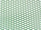 Tuning hűtőrács 100x25 - zöld nagy lyukú