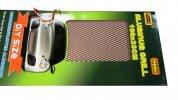 Tuning hűtőrács 100x33 - piros kis lyukú