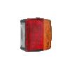 Utánfutó hátsó lámpa kicsi 3 kamrás, bal/jobb, rendszám világítással