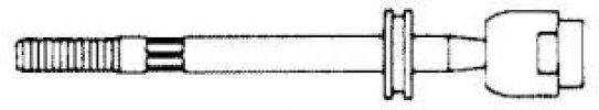 VOLKSWAGEN GÖMBFEJ G1157 BELSŐ (OEM:357 419 803, 88-94 BAL-JOBB (A:M22X1,5 B:M14X1)